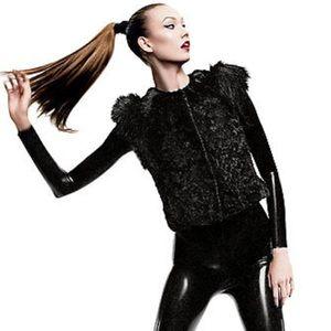 Skaist Taylor Neiman Marcus+Target Faux Fur Vest
